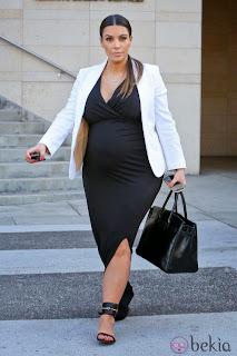 Kim Kardashian Embarazada, parte 1