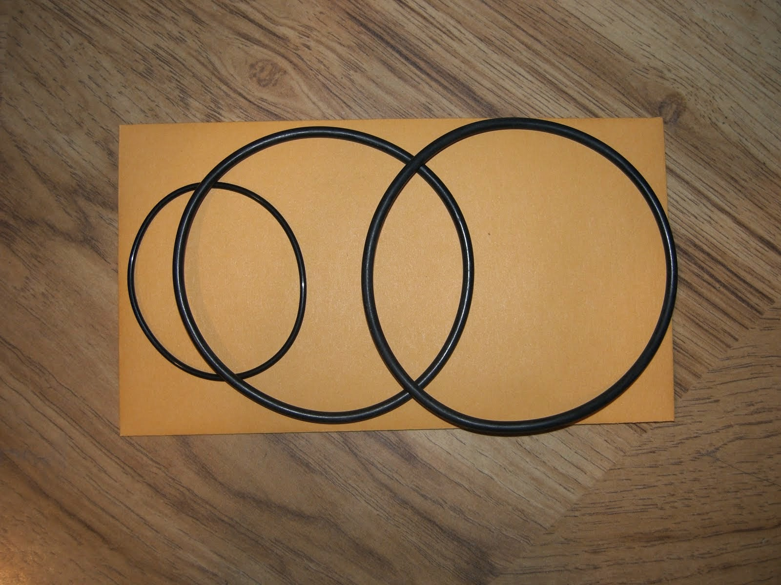 HONDA CA72 CA77 CB77 CL77 (LATER MODEL) OIL FILTER GASKET O-RING KIT (CB-FG002)