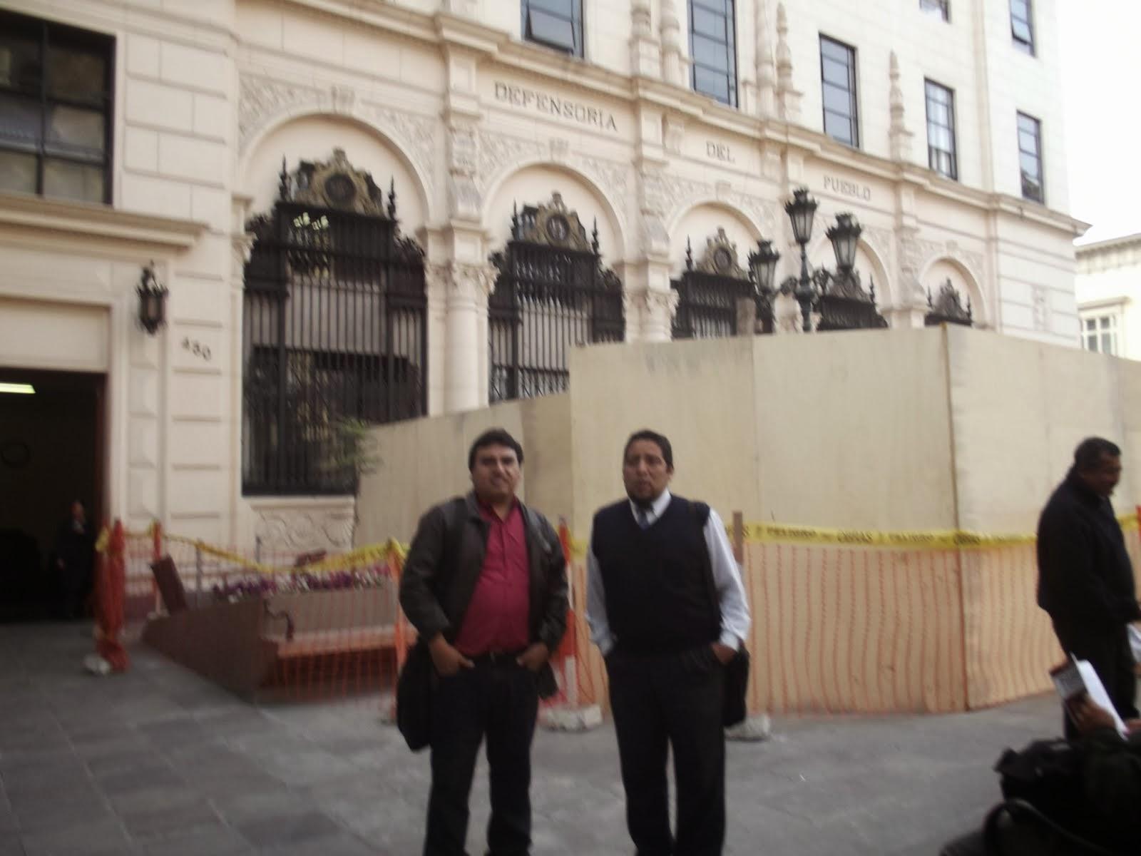 EL PRESIDENTE Y SEC. GRAL. DE LA FENAEP