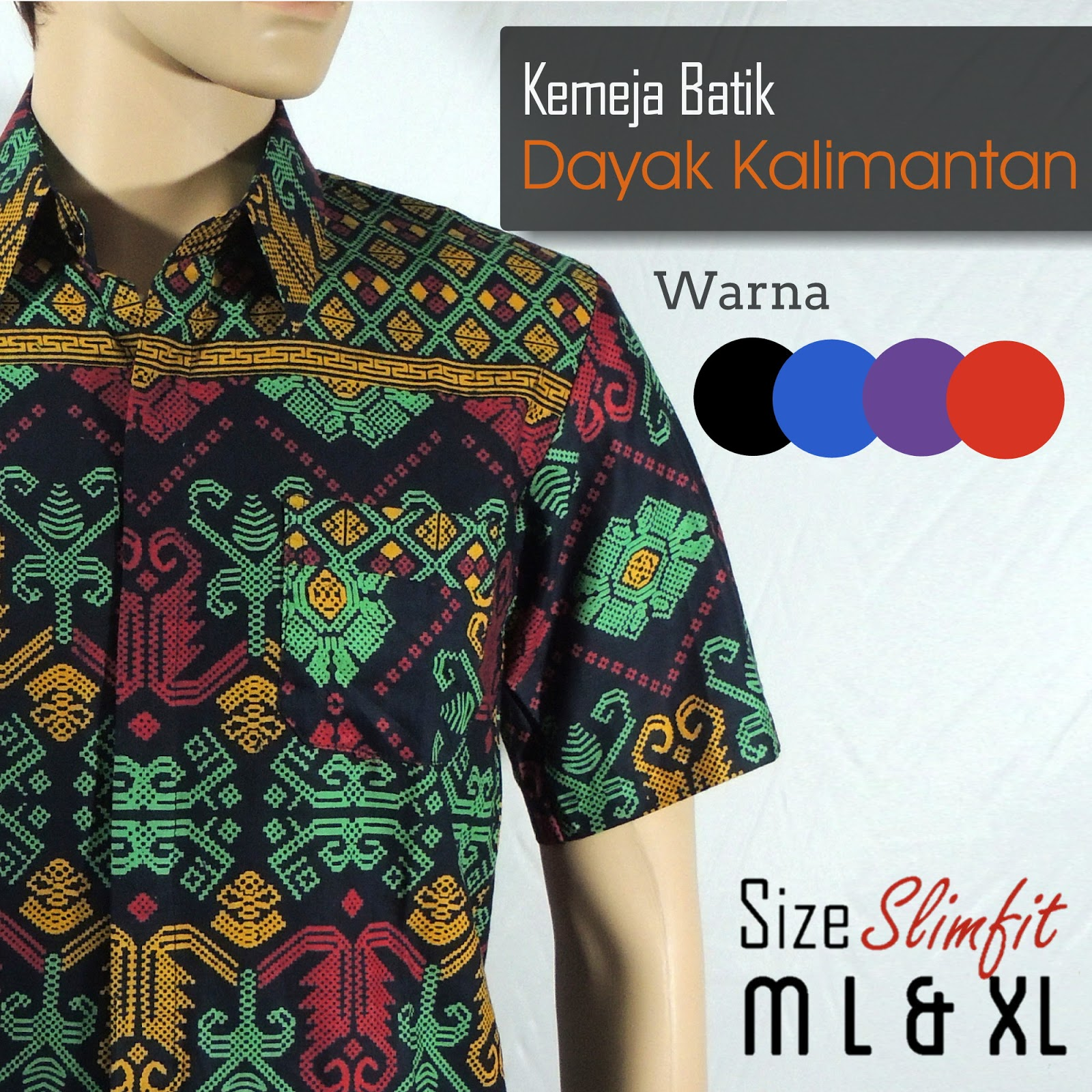 Batik Kalimantan New Belanja Ku F Shop