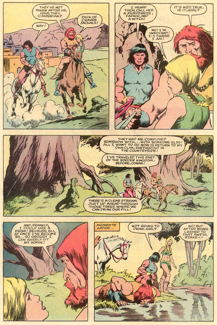 Conan the Barbarian (1970) Issue #163 #175 - English 5