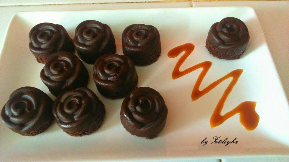 gül kek,kakaolu kek,çikolatalı kek,kek