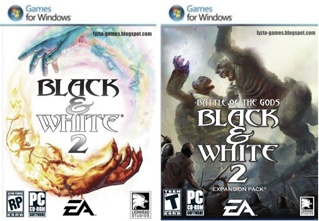 Black & White 2 + Battle Of The Gods Expansion PC Cover