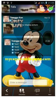 Kumpulan BBM Mod Android