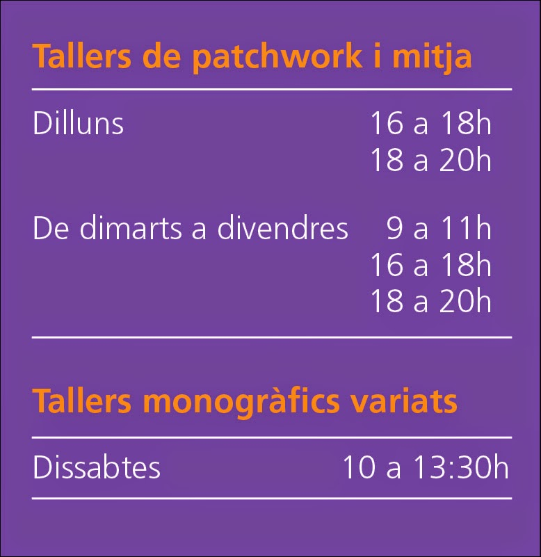Tallers per aprendre i practicar