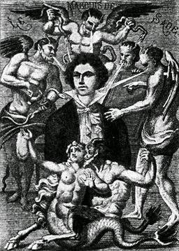 Portrait imaginaire du marquis de Sade
