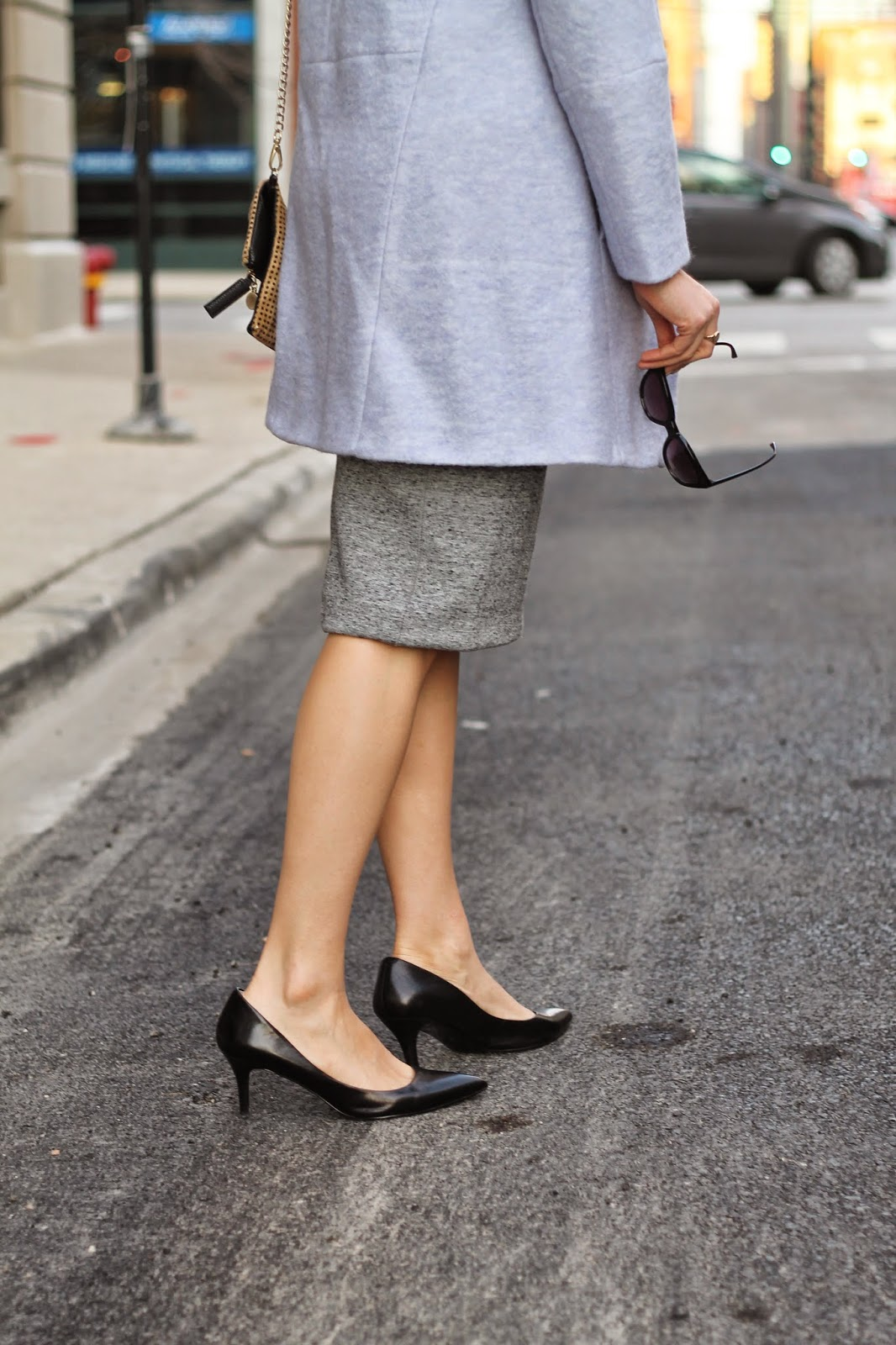 nine, west, black, pumps