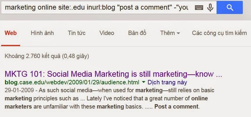 Tìm kiếm link edu và gov một cách dễ dàng cho seo 1
