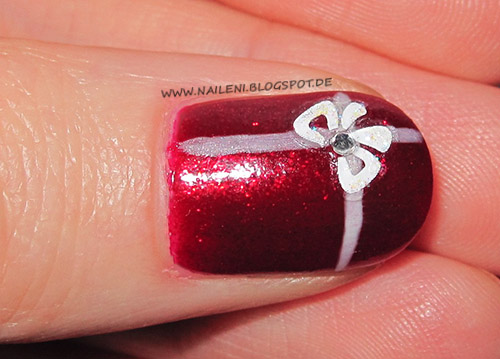 nageldesign motive weihnachten - Weihnachten OfficeNails