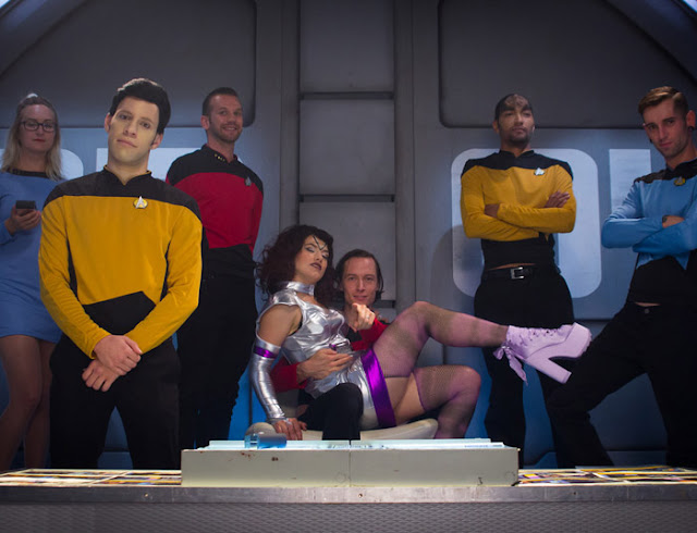 Ingrid Mouth - Star Trek The Next Penetration (Hardcore Gangbang)
