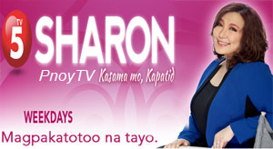 Watch Sharon Kasama Mo Kapatid November 6 2012 Episode Online