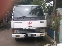 Pengiriman Truk Engkel B 9223 FO Mataram-Jakarta