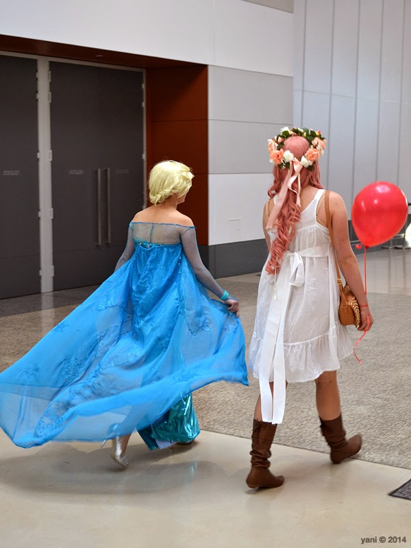oz comic-con adelaide - frozen friends