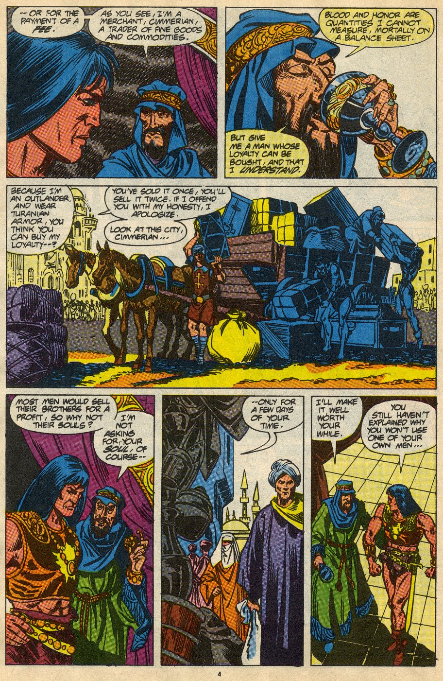 Conan the Barbarian (1970) Issue #230 #242 - English 5