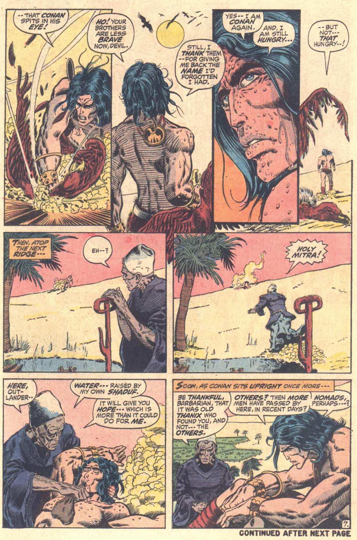Conan the Barbarian (1970) Issue #13 #25 - English 8