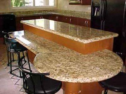 La marmolesa cocinas integrales con cubiertas en m rmol y for Barras de granito para cocina