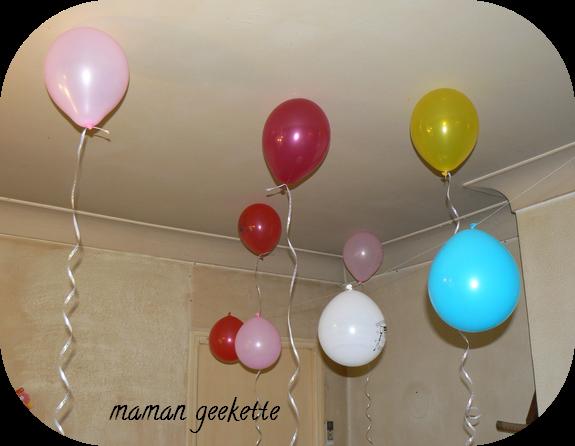 Quoi de neuf les loulous 50 mam n geekette - Faire tenir des ballons en l air sans helium ...