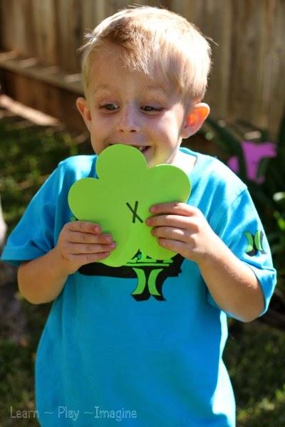 spring letter j alphabet flower hunt learn play imagine