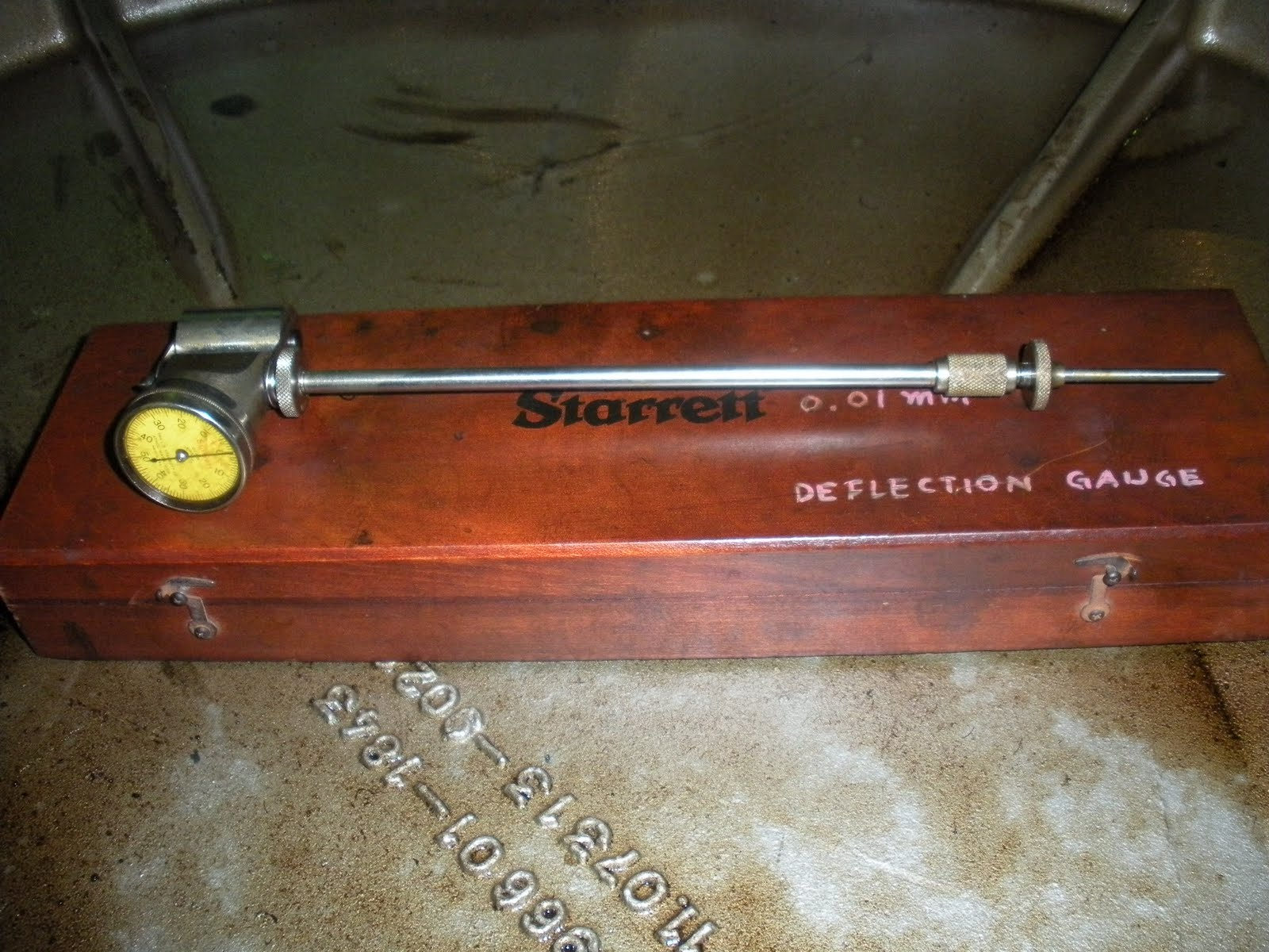 Digital Deflection Meter : Crankshaft deflection measurement hfo power plant
