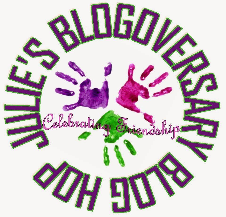 Julie's Blogoversary Blog Hop