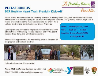 DCR Healthy Heart Trail Kick-off