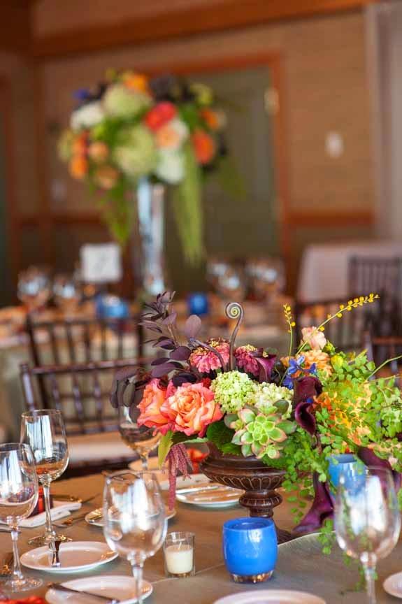 Wedding Reception flowers Seattle