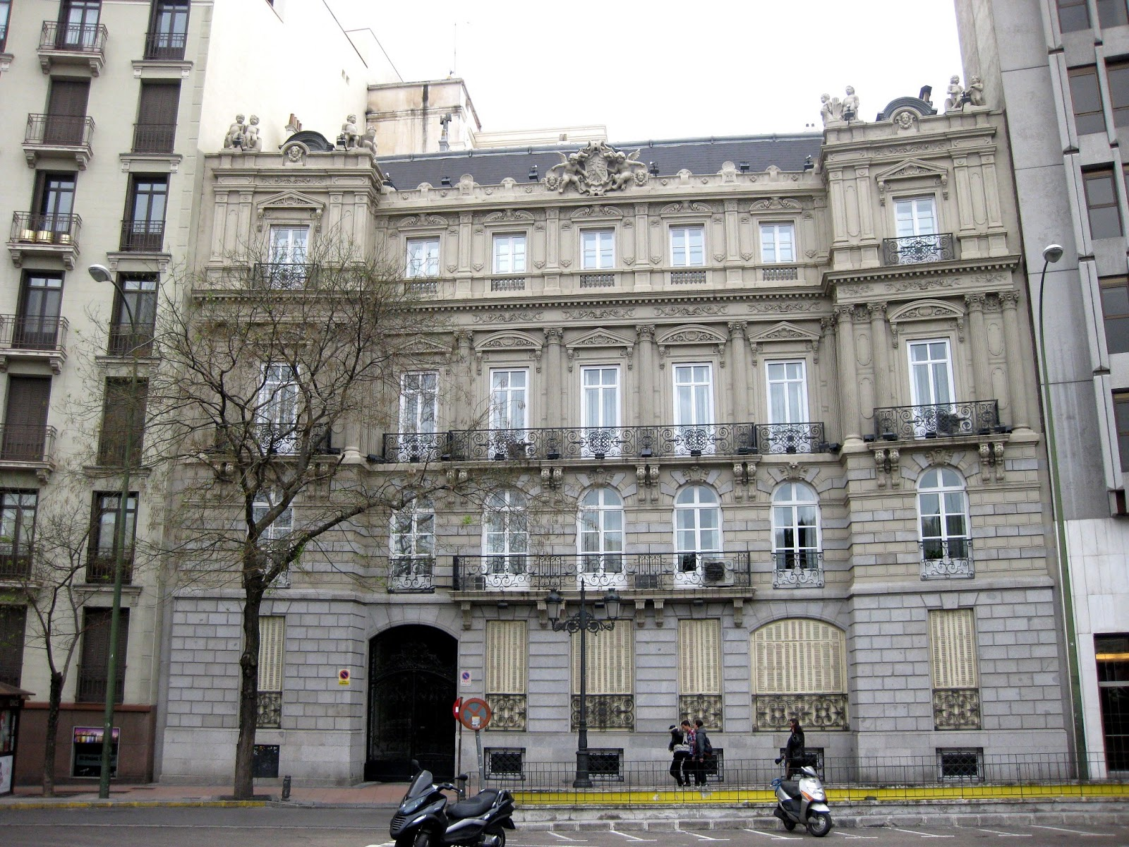 El Paisaje De Madrid El Desaparecido Hotel De Roma Y El