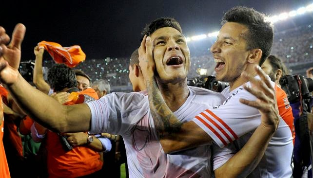 copa sudamericana, final, river plate, teo gutierrez, vangioni, boca, atlético de nacional, colombia