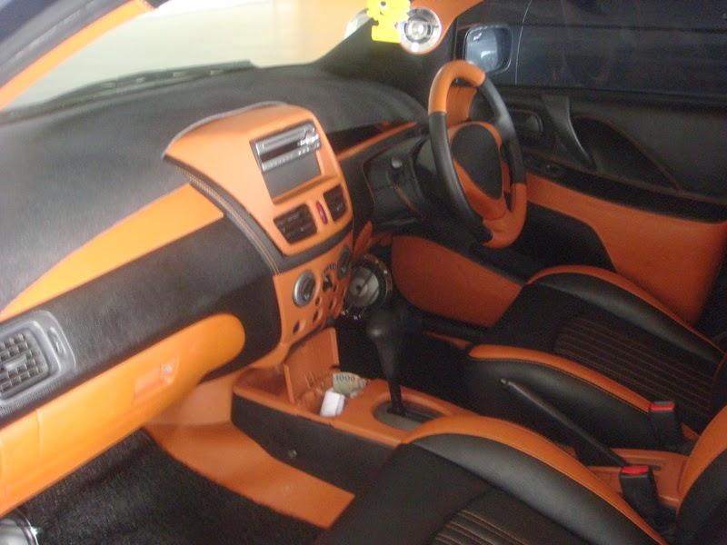 Modifikasi Interior Mobil Suzuki Aerio