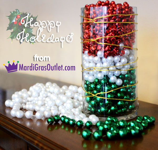 Mardi Gras Beads, Aluminum Wire, How- to, Bead Crafts, Initials, Bead Letters, Holiday Crafts