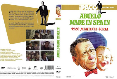 Dvd, carátula: Abuelo made in Spain | 1969