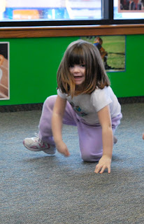 "photo of: Digging the Dirt: ""The Carrot Seed"" Dance Story Activity at PreK+K Sharing"