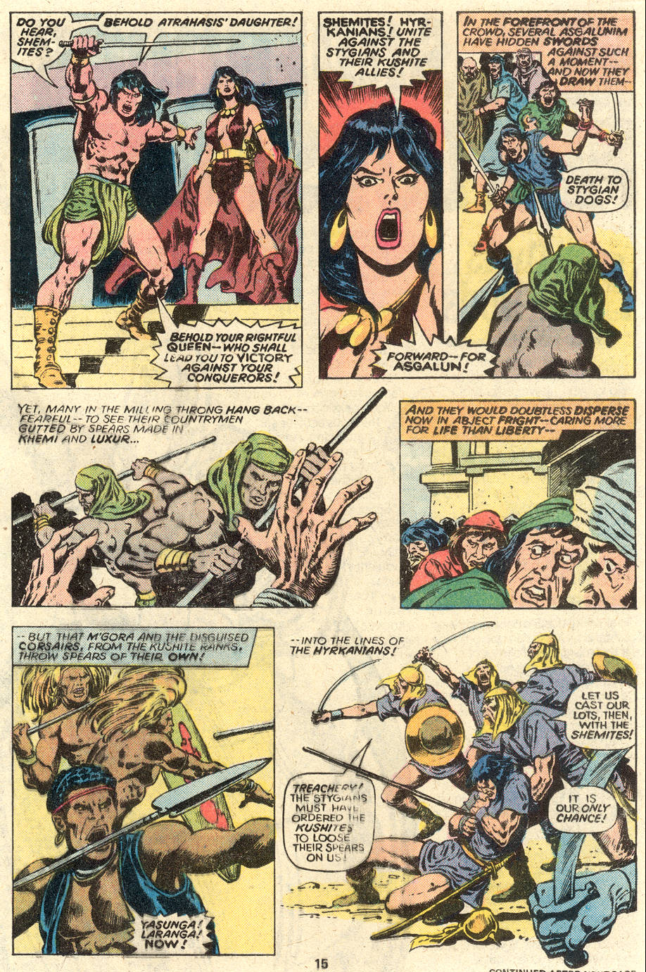 Conan the Barbarian (1970) Issue #93 #105 - English 11