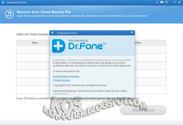 wondershare dr fone for ios registration key