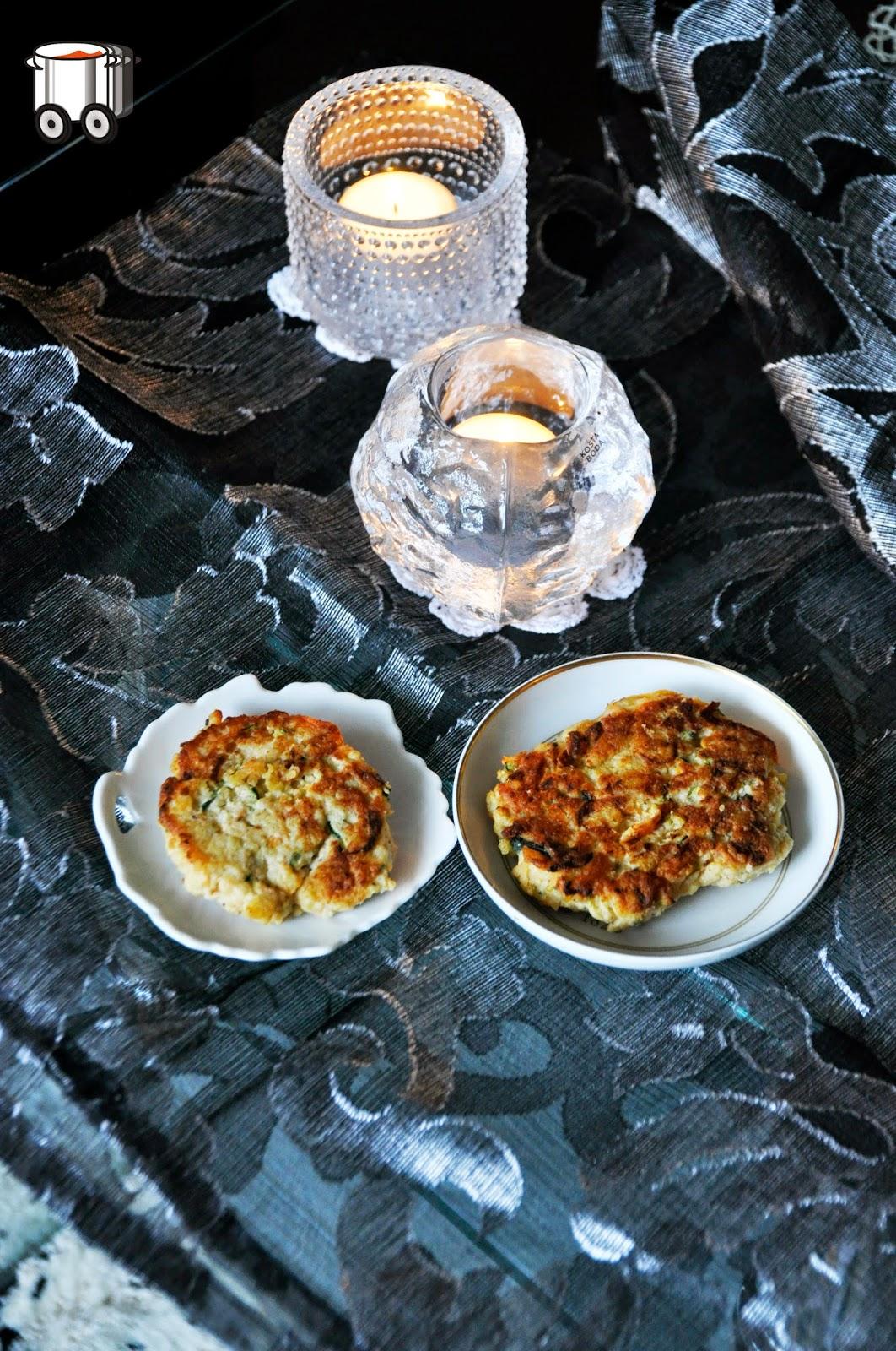 Szybko Tanio Smacznie - Kotleciki z łososia, kaszy jaglanej, cukinii i marchewki (bez glutenu, bez laktozy)