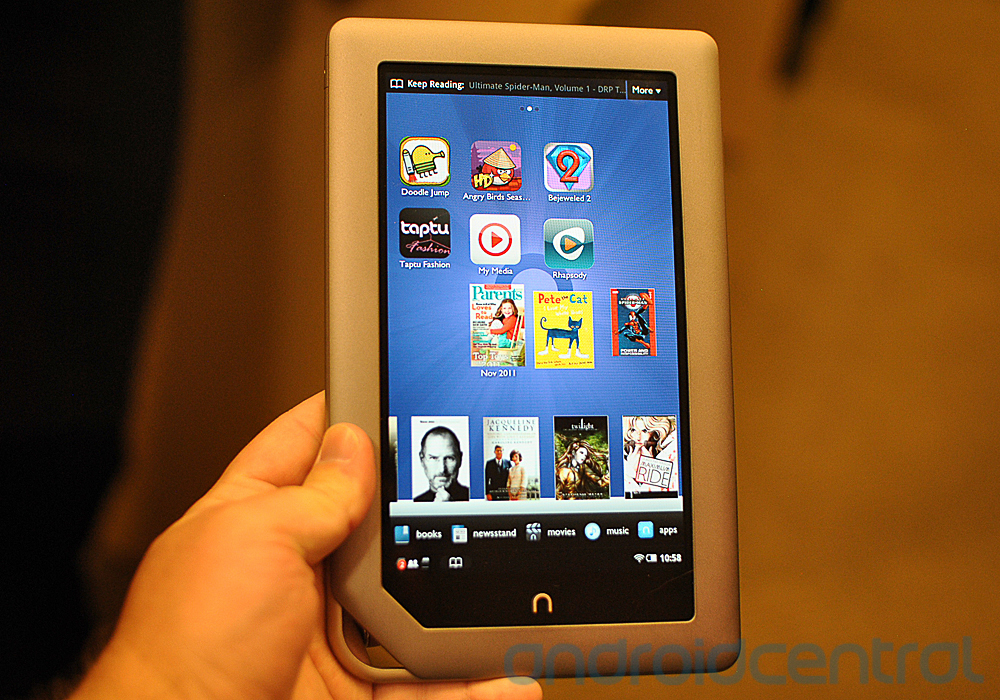 how to library books to my nook tablet