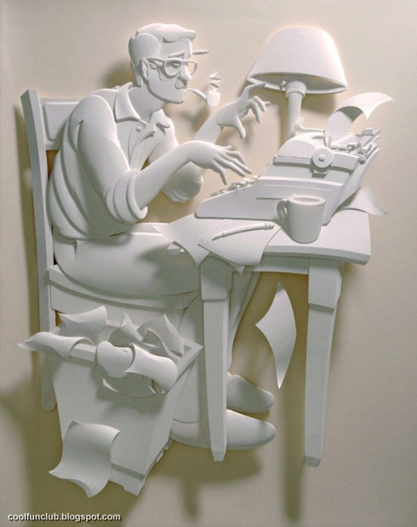 Coolfunclub Paper Art Sculptures