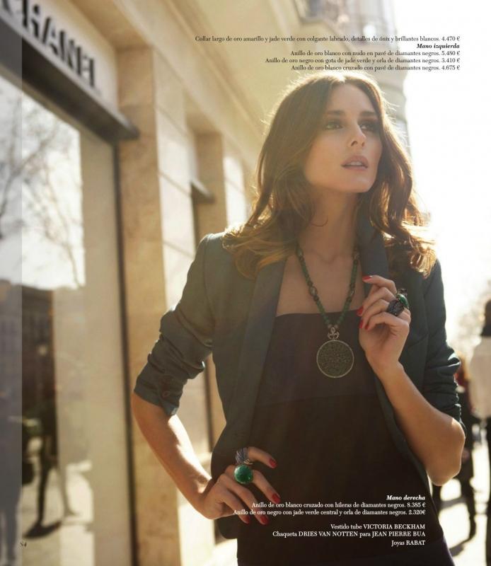 Olivia Palermo Rabat Magazine Photos
