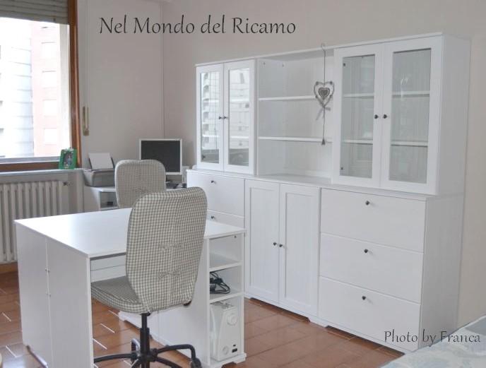 Credenza Borgsjo Ikea : Nelmondodelricamo: si avvera un sogno .la craft room!!!