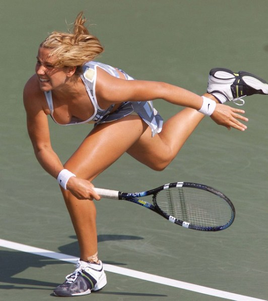 For the Ashley harkleroad hot tennis players female pity