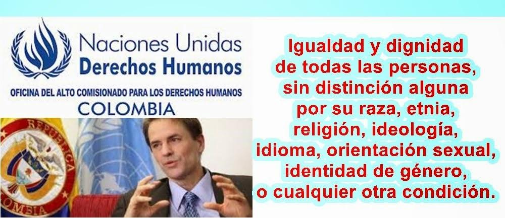 COLOMBIA: La discriminación es inaceptable: Oficina de la ONU para los Derechos Humanos