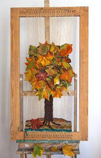 фелтинг, валяние из шерсти, валяное дерево