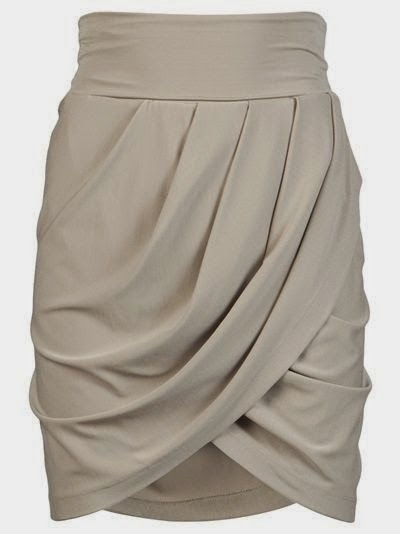 See more Stunning Mini Skirt In Tan