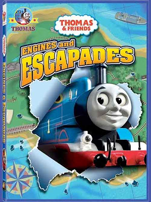 DVD Thomas and friends Thomas engines and escapades Sodor Fearless Freddie Rheneas Skarloey trains