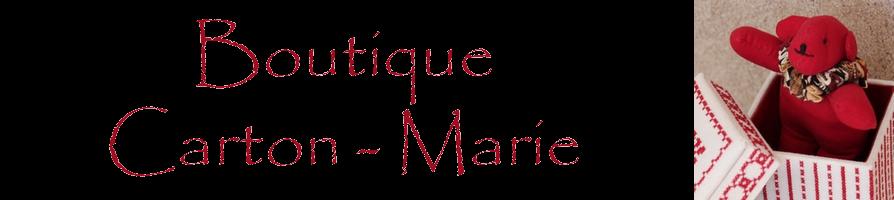 la Boutique di Carton-Marie