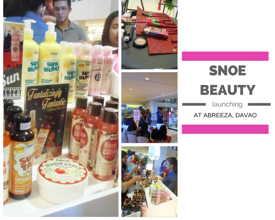Snoe Beauty Abreeza Grand Opening, Davao