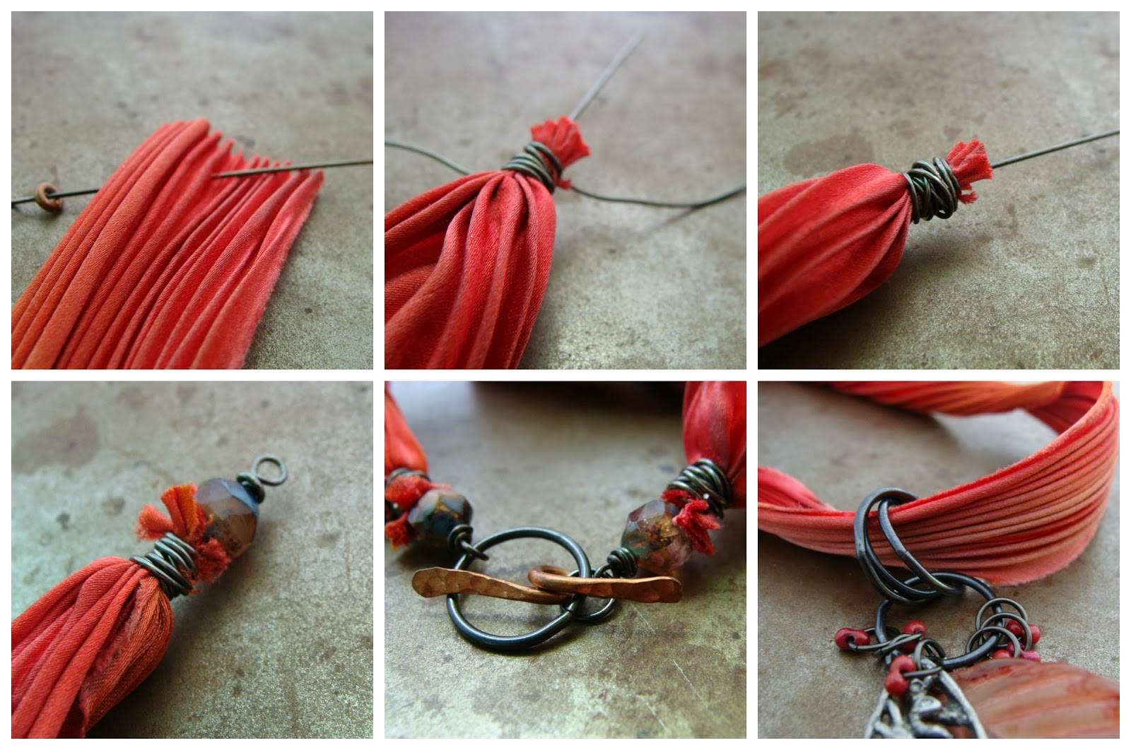 wing gears ribbon pin key flight recycled s sari media silk with necklace mixed winter chain