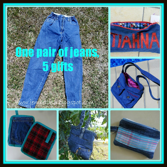 Creating my way to success upcycling jeans part two for Jeans upcycling ideas