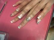 En las uñas triangulares