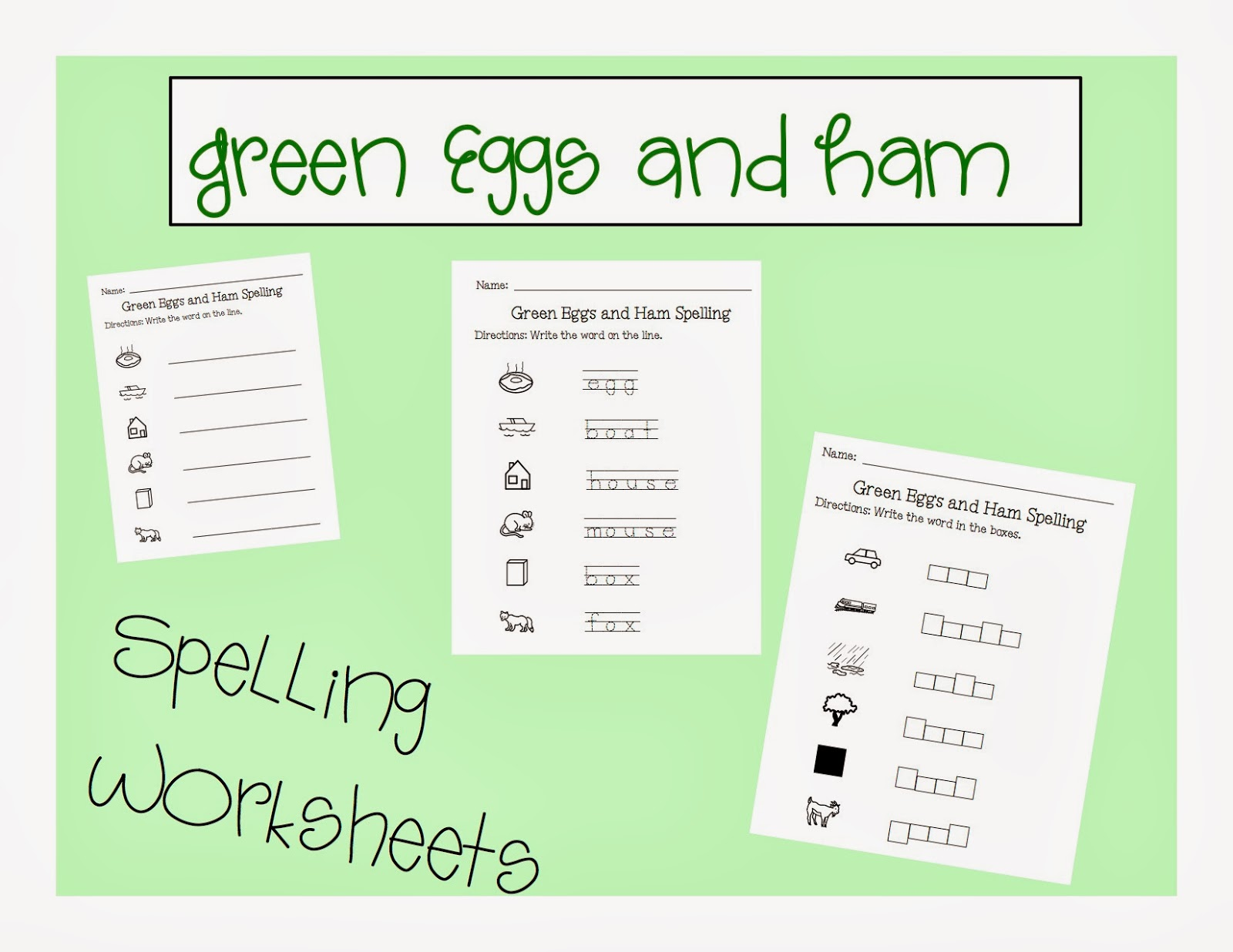 worksheet Green Eggs And Ham Worksheet book of the month green eggs and ham autism adventures ham